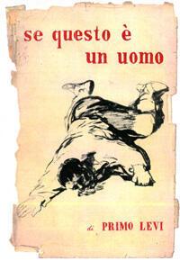 Couverture de la première édition de «Si c'est un homme» chez De Silva, 1947. DR