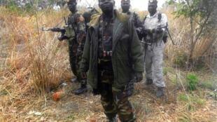 Kiongozi wa waasi wa FDPC Abdoulaye Miskine na wapiganaji wake huko Biti.