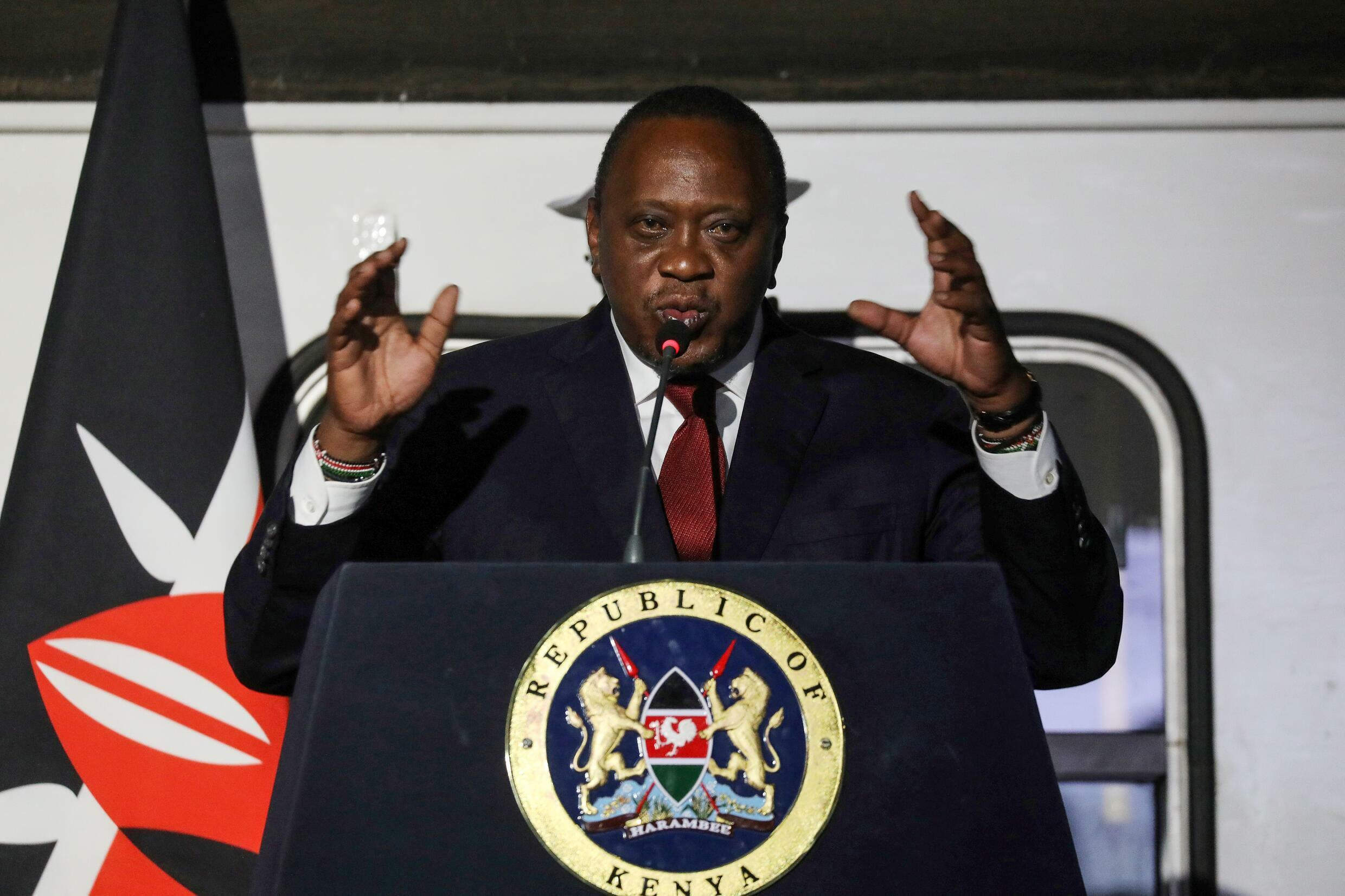 Kenyan President Uhuru Kenyatta has criticised a lower court's ruling that his proposed reforms were illegal