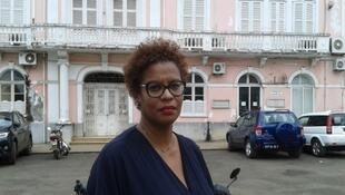 Célia Posser, Batonária da Ordem dos Advogados de São Tomé e Príncipe.