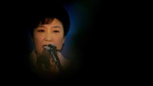 圖為韓國總統樸槿惠