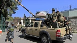 Theo Liên Hiệp Quốc, trong năm 2014, 57 nhân viên hoạt động nhân đạo đã thiệt mạng tại Afghanistan - REUTERS /Parwiz