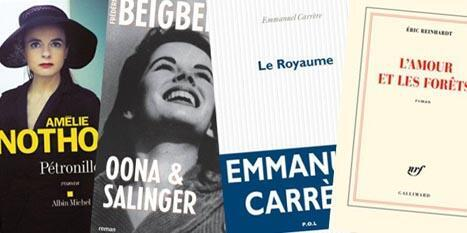 چند رمان تازه  که از نامزدان  جوایز ادبی امسال در فرانسه بحساب می روند.
