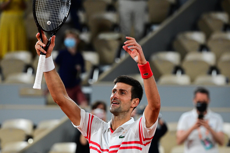 Triumph for Novak Djokovic