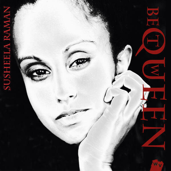 """CD cover """"Queen Between"""" by Susheela Raman"""