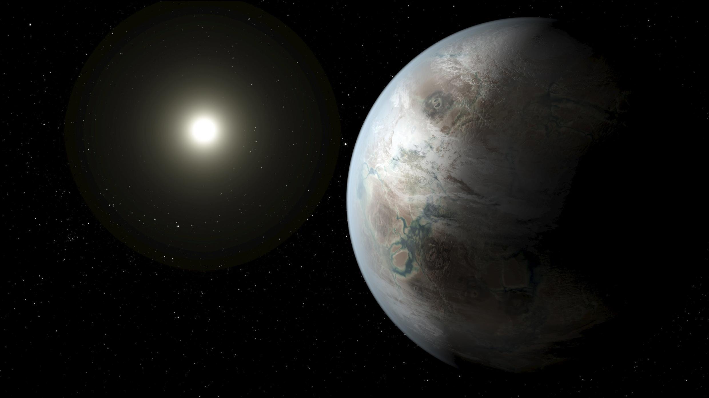 Ilustración de lo que podría ser el planeta Kepler-452b.