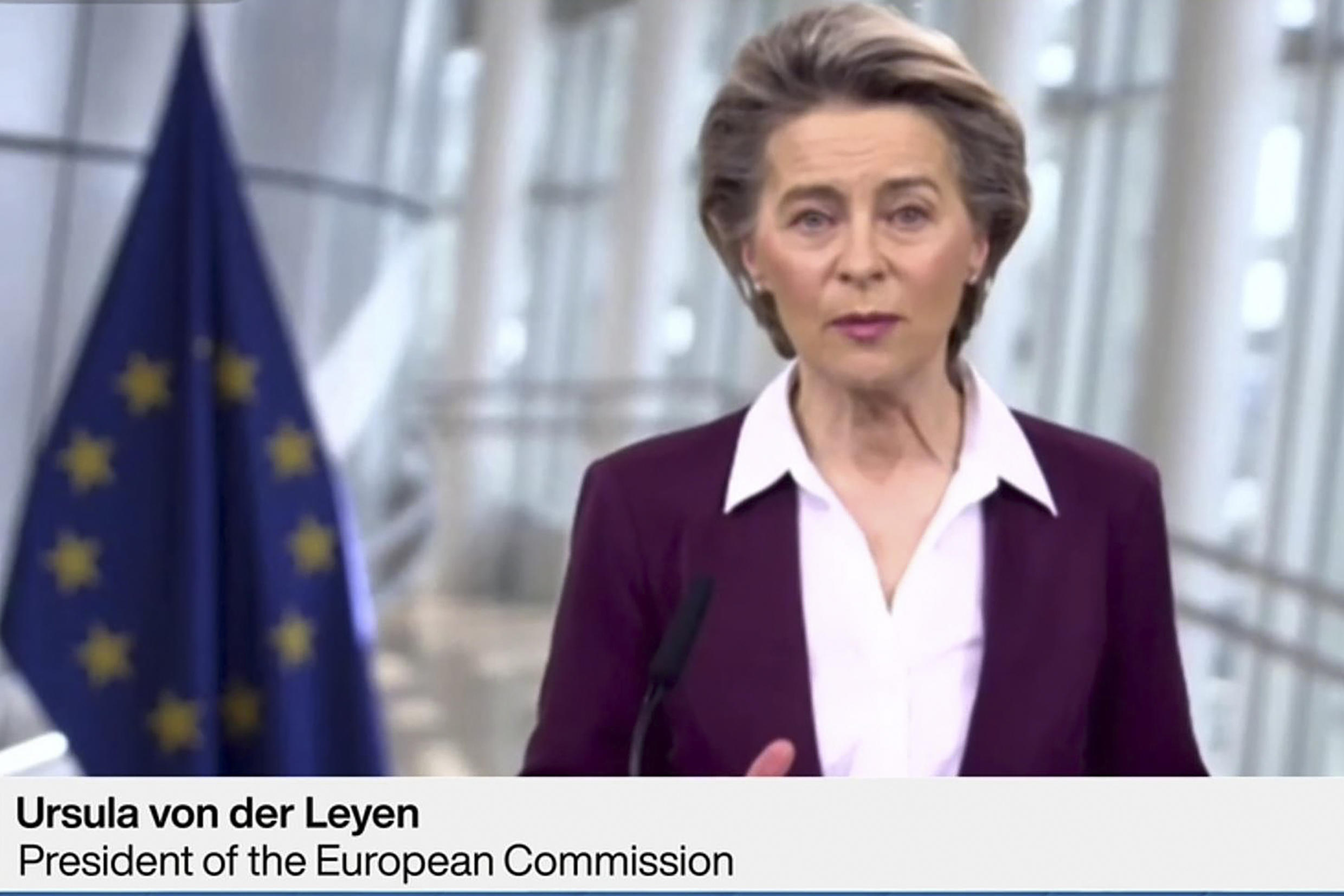 EU Commission chief Ursula von der Leyen has put pressure on pharmaceutical firms to deliver on their vaccine promises