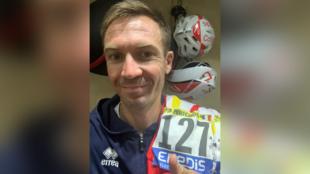 Le coureur de Cofidis Pierre-Luc Périchon pendant le Tour de France 2020.