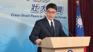 台灣陸委會副主委兼發言人邱垂正資料圖片