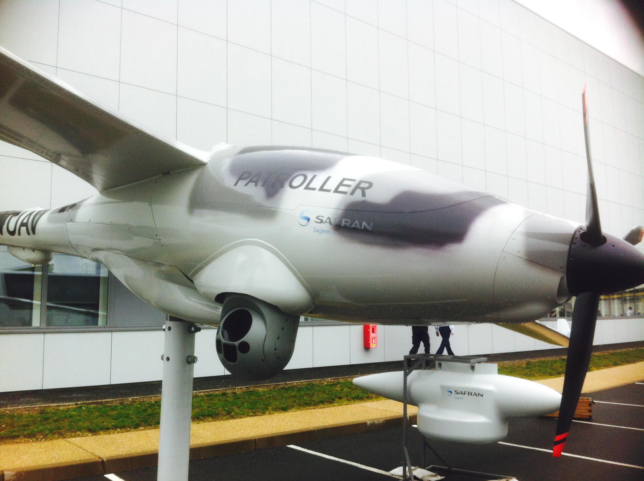«Patroller», le nouveau drone de l'Armée de Terre française.