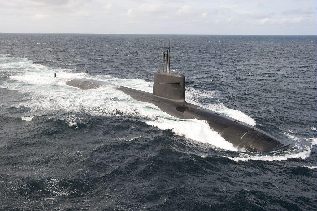 法国的核潜艇 ,2019年11月