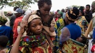 Homa inayosababishwa na virusi vya Marburg iliripotiwa kwa mara ya kwanza miaka 10 iliyopita katika eneo la Kamwenge, magharibi mwa Uganda. Kwenye picha ni wakazi wa eneo la Kamwenge.