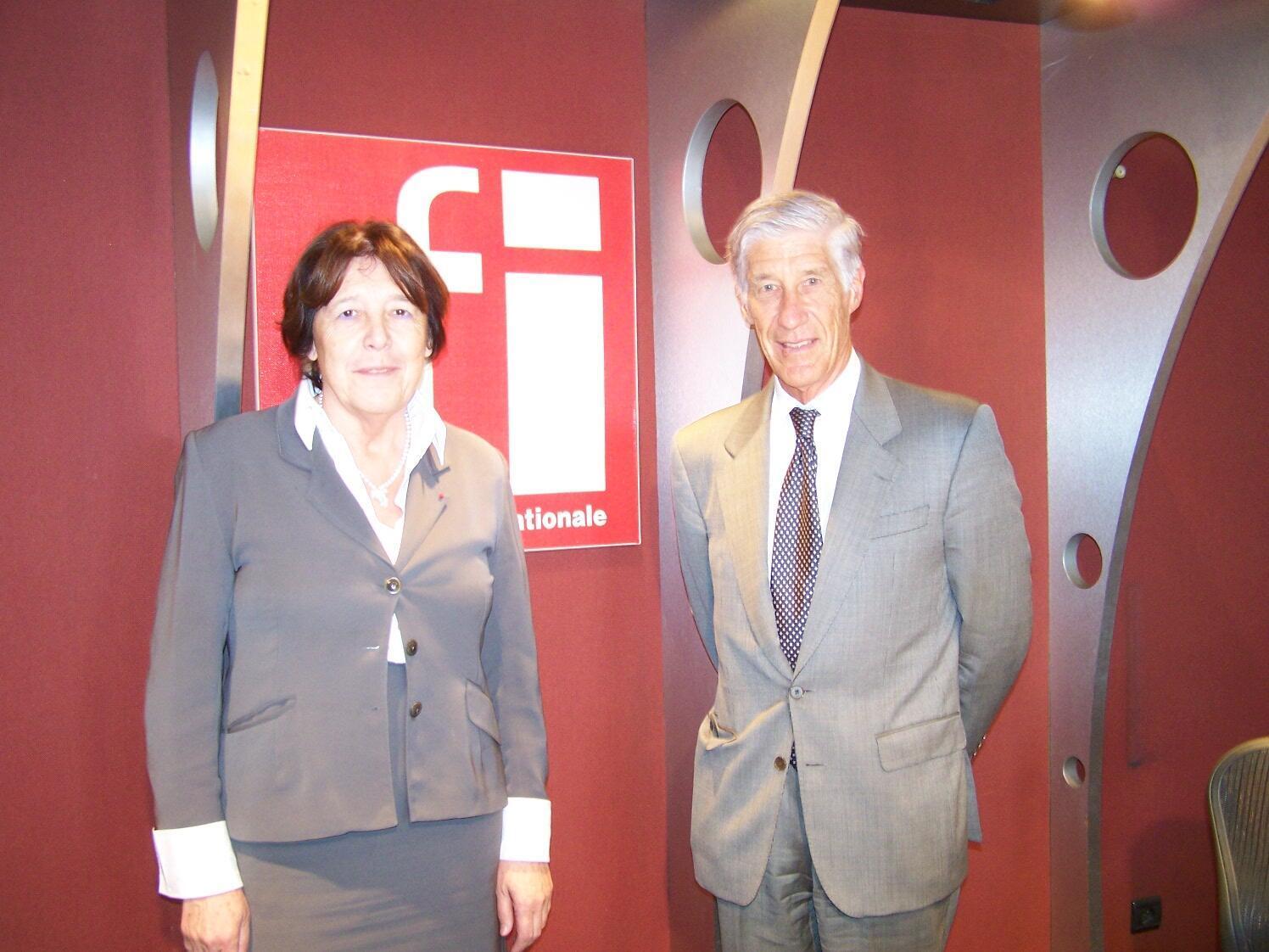 Catherine Bréchignac et Joël de Rosnay
