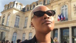 Pongo no Palácio do Eliseu, Paris. 21 de Junho de 2019.