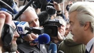Apesar de ter sido derrotado, o partido de Geert Wilders ganhou voz e força no Parlamento europeu