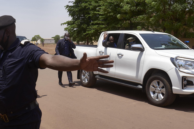 Novo Presidente de transição do Mali, coronel Assimi Goïta.