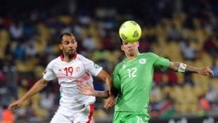 Le Tunisien Saber Khlifa lors de la CAN 2013.