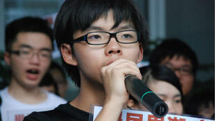 香港青年学生领袖黄之锋