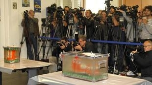 Coletiva do BEA, agência civil francesa que investiga  as causas da queda do voo 447