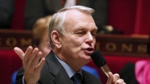 Jean-Marc Ayrault à l'Assemblée nationale, le 5 décembre 2012.