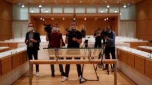 2020-09-02 france paris charlie hebdo terrorism trial jihadist court film national archives