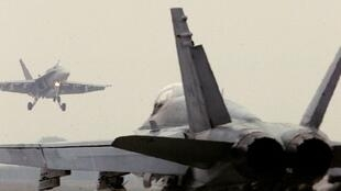 CF-18 «Hornet» canadien sur la base d'Aviano.