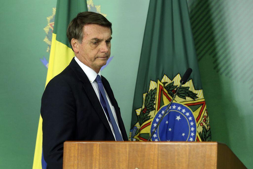 O presidente brasileiro, Jair Bolsonaro, em 25/01/2019.