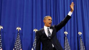 باراک اوباما، رئیس جمهوری ایالات متحده امریکا