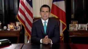 Ricardo Rossello, gouverneur de Porto Rico, a annoncé sa démission dans la nuit de mercredi à jeudi 25 juillet 2019.