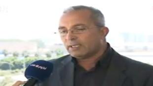Othman Bensasi, secrétaire général du Conseil national de transition.
