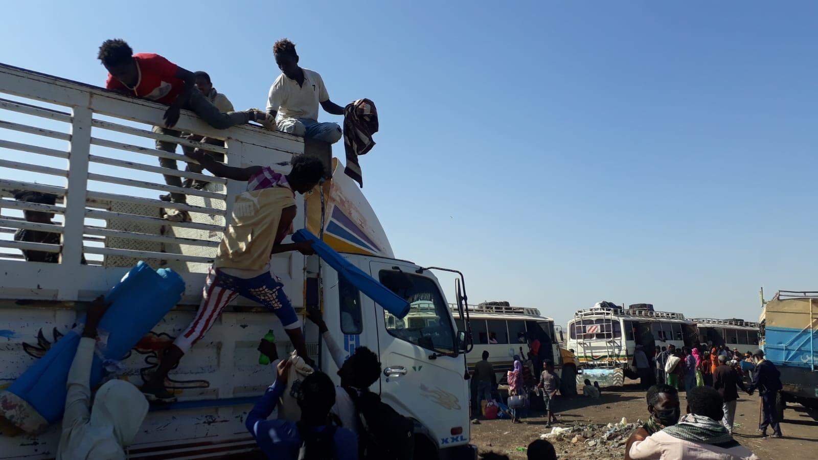 Environ 30 000 personnes ont déjà fui le Tigré et ses combats en allant vers la frontière soudanaise.