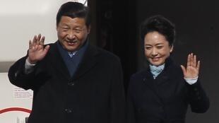 2013年3月22日中國國家主席習近平和夫人到訪俄羅斯。