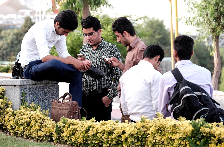Des jeunes iraniens à Téhéran, le 16 mai 2017.