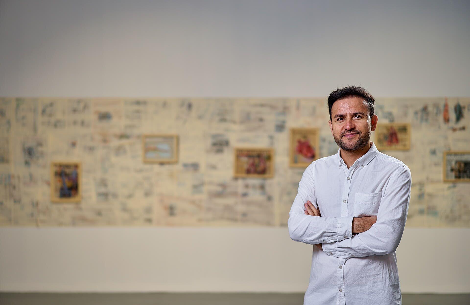 """نمایشگاه آثار الیاس علوی با عنوان """"گرگ خیالباف"""" در شهر آدلاید استرالیا  عکاس: Sam Roberts"""