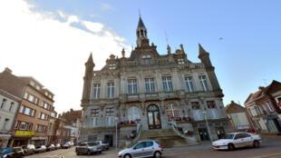 La mairie de Hénin-Beaumont, le 30 octobre 2013.