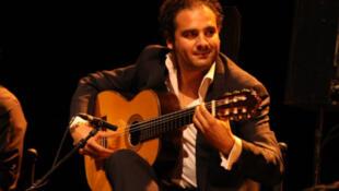 El guitarrista Diego El Morao.