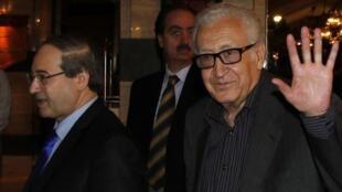 Lakhdar Brahimi msuluhishi wa mgogoro wa Syria
