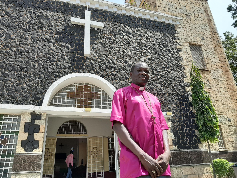 Justin Badi Arama, archevêque de Juba au Soudan du Sud, le 17 novembre 2019.
