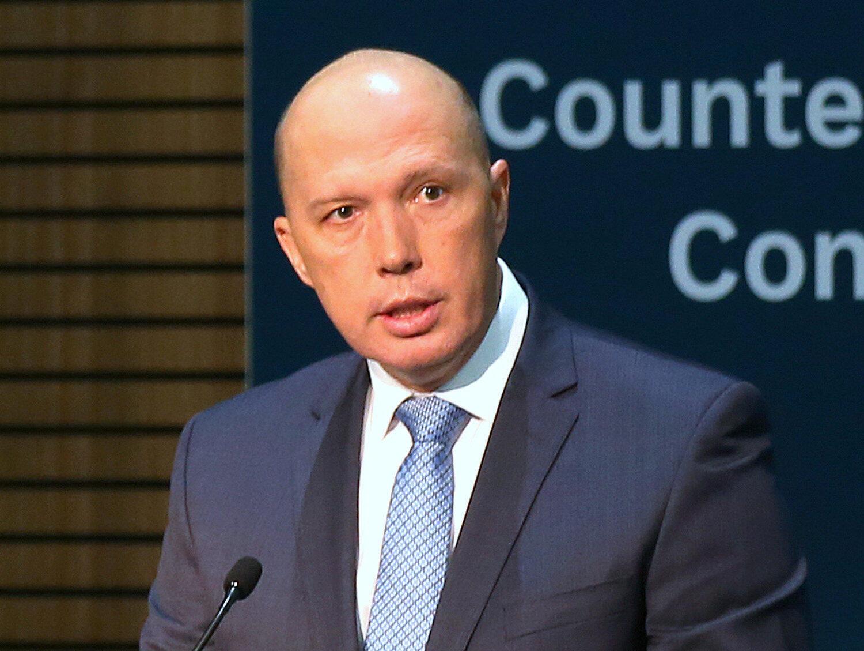 澳大利亚防长 杜登(Peter Dutton )