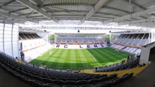 Le stade Bollaert-Delelis de Lens, le 6 août 2015, après rénovation.