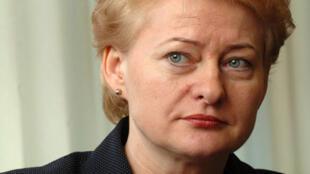 ប្រធានាធិបតីលីទុយអានី លោកស្រី Dalia Grybauskaité