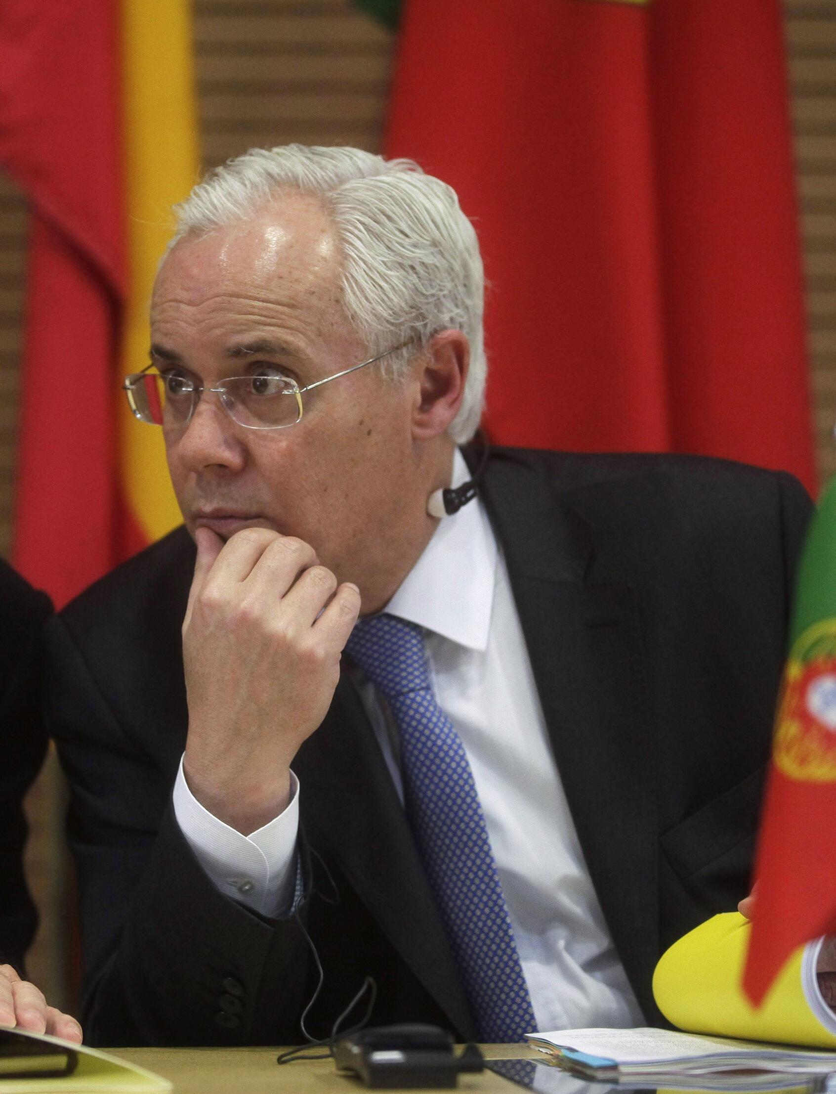 El exministro del Interior de Portugal, Miguel Macedo.