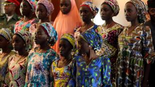 An ceto 'Yan Matan Makarantar Chibok su 21 da mayakan Boko Haram suka sace sama da shekaru biyu a Najeriya