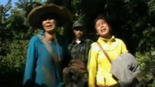 克钦人撤离后2012年12月28日视频图像