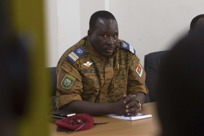 O tenente-coronel Isaac Zida assumiu a liderança de Burkina Fasso no último sábado (1).