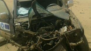 El 26 de febrero de 2014 una mina destruyóo un vehículo de Médicos del Mundo cerca del aeropuerto de Kidal, Mali. Sus dos ocupantes resultaron heridos.