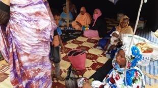 Le groupement des femmes du village de Hamdallaye, près de Boghé, en Mauritanie.