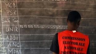 Dépouillement dans un bureau de vote à Lomé, samedi 22 février 2020 (illustration).
