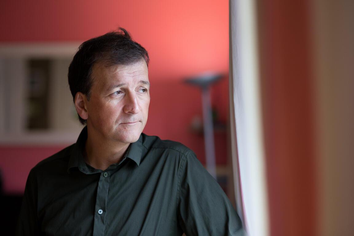Loïc Bureau, père du journaliste Loup Bureau, emprisonné en Turquie.
