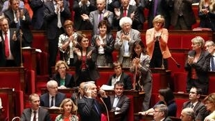 French MPs at the Assemblée Nationale